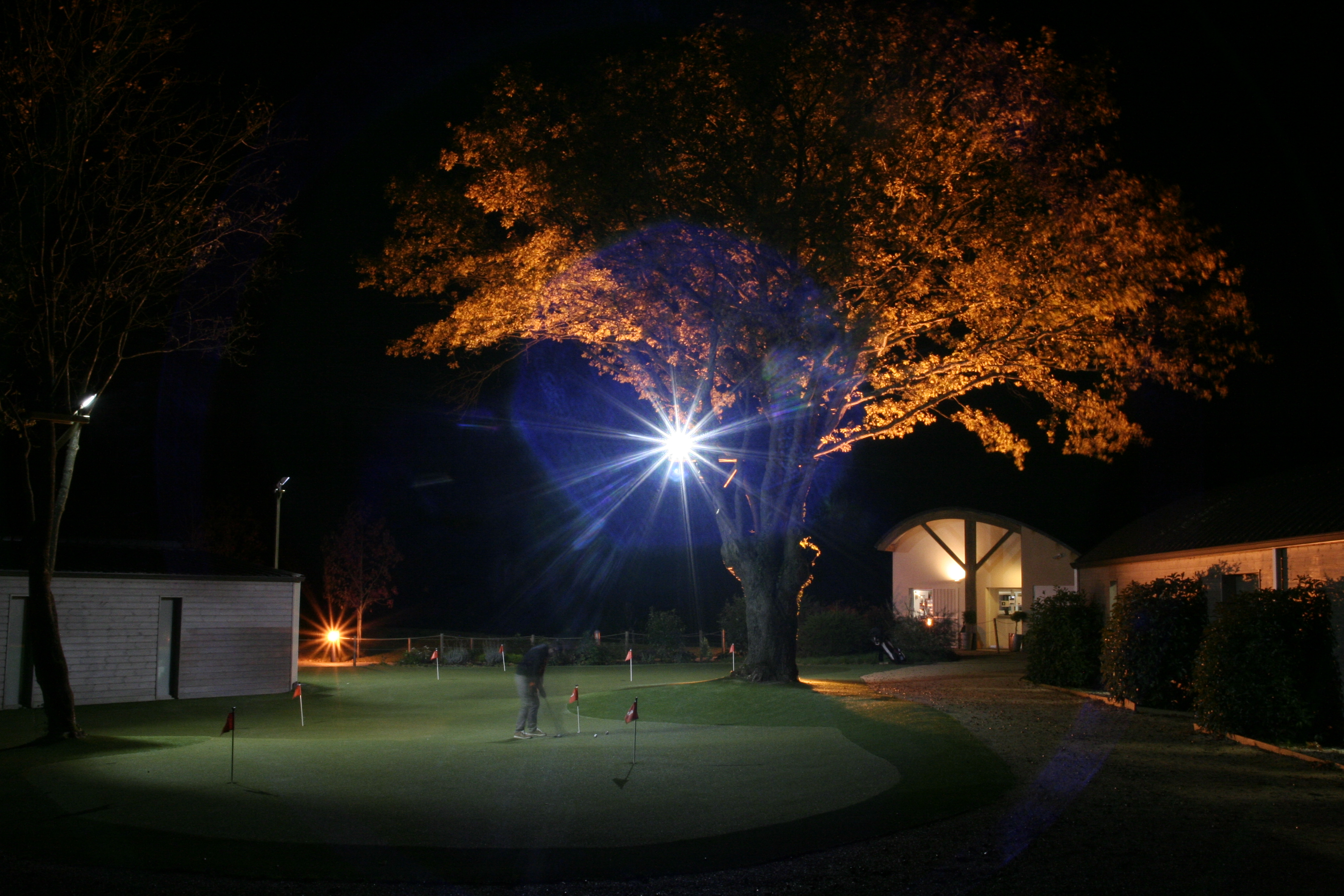 putting green de nuit